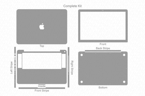 "MacBook Pro 15"" (2008) Skin Template Cut File"