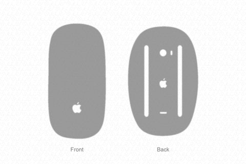 Apple Magic Mouse 2 (2015) Wrap Template Cut File