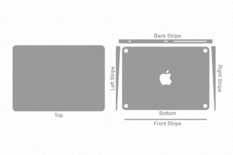 Apple Magic Trackpad 2 (2015) Wrap Template Cut File