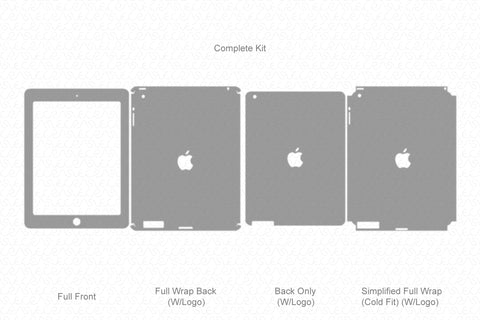 iPad 2 (2011) Vector Cutline Template