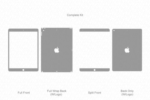 "iPad Air 3- 10.5"" (2019) Vector Cutline Template"