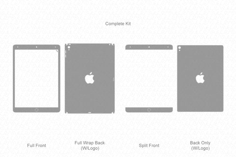 "iPad Pro 10.5"" (2017) Vector Cutline Template"