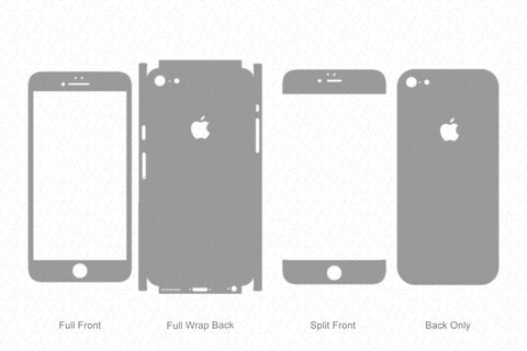 iPhone 6 Plus (2014) Skin Template Vector