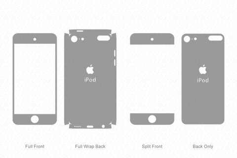 Apple iPod Touch 6 (2015) Skin Vector Template