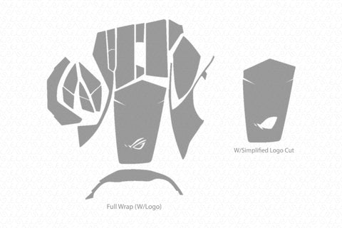 ROG Spatha Wireless Mouse Skin Template Vector
