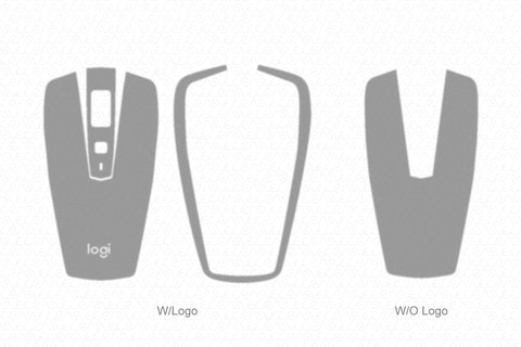 Logitech MX Anywhere 2S Wireless Mouse 2017 Wrap Template Cut File