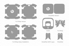 Powerbeats Pro (2019) Skin Cutting Template