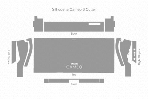Silhouette Cameo 3 Cutter 2016 Wrap Template Cut File