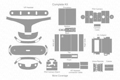 Sony PS VR with Camera (2016) Skin Cutting Template