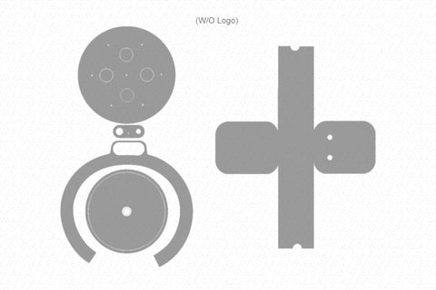 Amazon Echo Plus 2 (2018) Skin Vector Template