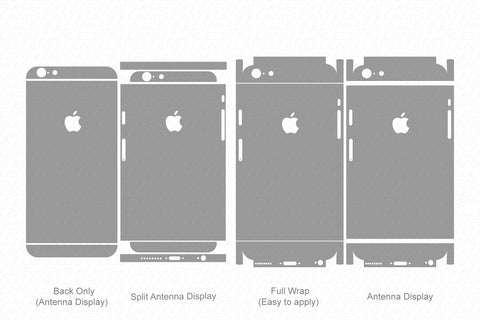 iPhone 6 (2014) Skin Template Vector