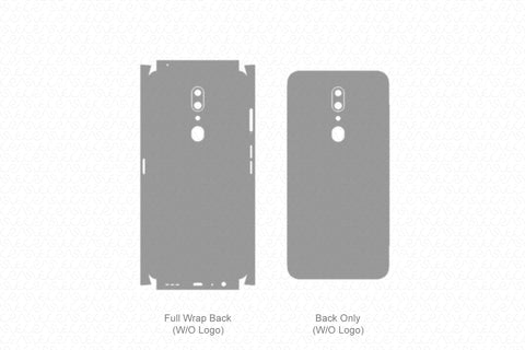 Oppo A9 Skin Template Vector 2019