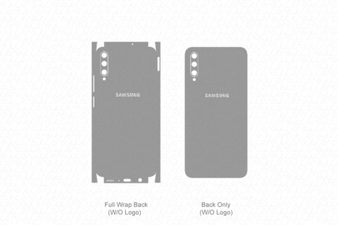 Galaxy A30s (2019) Skin Template Vector
