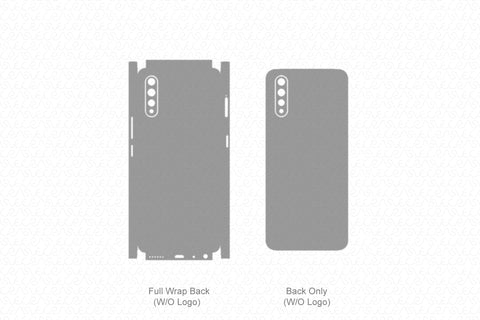 Vivo S1 (2019) Skin Template Vector
