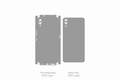 Vivo Nex Skin Template Vector 2018