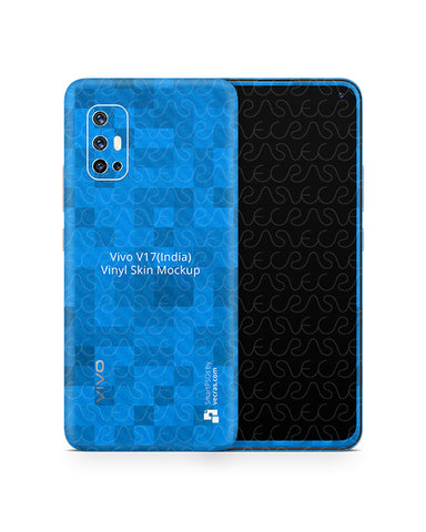 Vivo V17-India (2019) PSD Skin Mockup Template