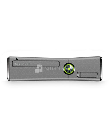 Xbox 360 Slim Console Vinyl Skin Design Template (3 Views)