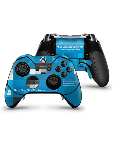 Xbox One Elite Controller Skin Design Template