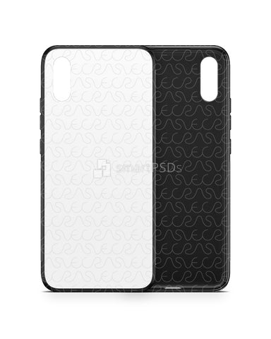 Xiaomi Redmi 9A (2020) 2d Rubber Flex Case Design Mockup