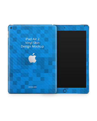 Apple iPad Air 2 Tablet Vinyl Skin Design Mockup 2014