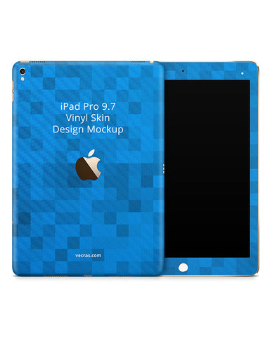 Apple iPad Pro 9.7 Vinyl Tablet Skin Design Template