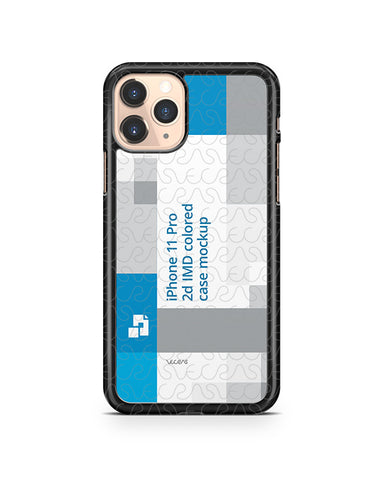 iPhone 11 Pro (2019) 2d PC Colored Case Design Mockup