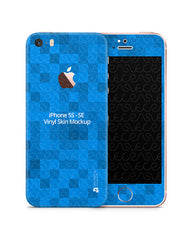 iPhone 5s/SE PSD Skin Mockup Template