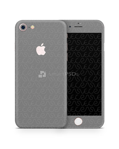 Apple iPhone 7 Mobile Skin Design Template Front-Back