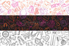 Shopping and Sale Background Pattern