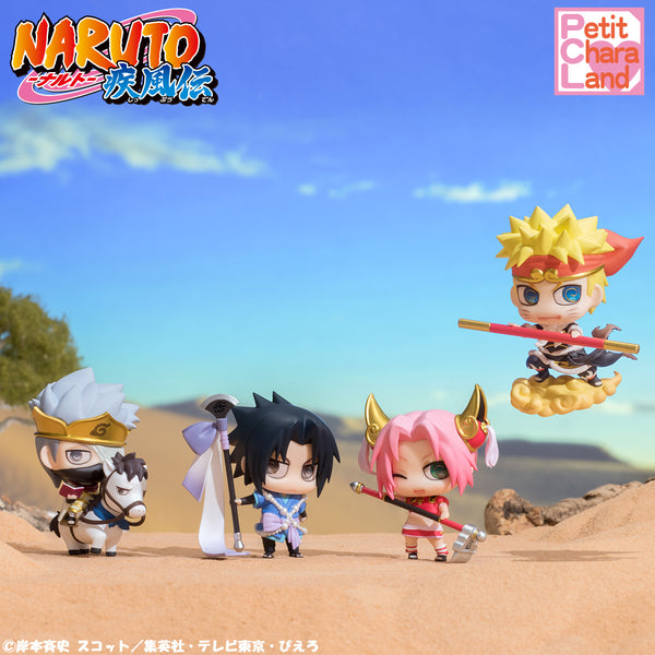 Petit Chara Land: Naruto Shippuden - Team 7 Journey to the West Edition