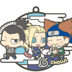 Rubber Mascots Buddy-Colle Naruto Shippuden: Three Man Squad Edition