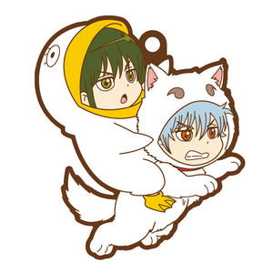 Rubber Mascots Buddy-Colle: Gintama - Gintoki & Me