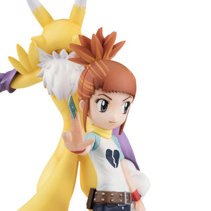 G.E.M Series: Digimon Tamers - Renamon & Rika Nonaka (Resale)
