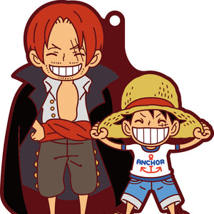 Rubber Mascots Buddy-Colle: ONE PIECE Luffy Special!