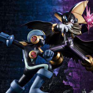 Game Characters Collection DX: Megaman.EXE - Megaman vs Bass