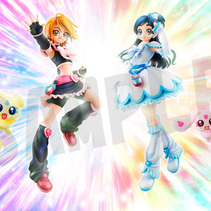 Pretty Cure: Cure Black & Cure White Set (Includes Picture Sheet)