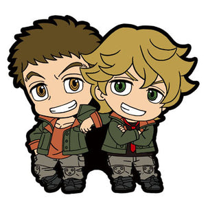 Rubber Mascots Buddy-Colle: Mobile Suit Gundam: Iron-Blooded Orphans Their Footprints Edition