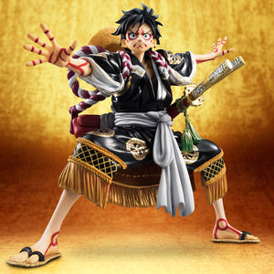 "Portrait.Of.Pirates ONE PIECE: ""KABUKI EDITION"" Monkey D.Luffy (Resale)"