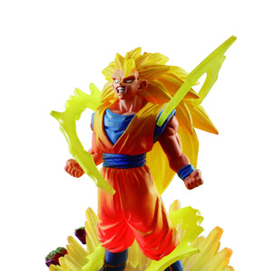 Dragon Ball Capsule Memorial 01 Son Gokou / 02 Super Saiyan Gokou / 03 Super Sayian 3 Gokou