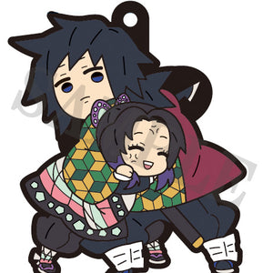 Rubber Mascots Buddy-Colle: Demon Slayer: Kimetsu no Yaiba Vol.3
