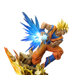 Prime 1 Studio x MegaHouse Mega Premium Collectible: Dragon Ball Z - Son Goku (Super Saiyan) DX Ver.