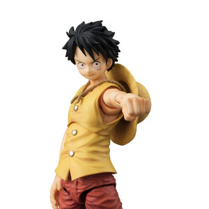 Variable Action Heroes: ONE PIECE Monkey D. Luffy PAST BLUE (Yellow Ver.)