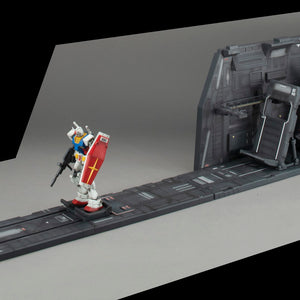 Realistic Model Series: Mobile Suit Gundam 1/144 Scale HGUC Series White Base Catapult Deck (Renewal Edition)