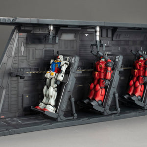 Realistic Model Series: Mobile Suit Gundam 1/144 Scale HGUC Series White Base Catapult Deck (Renewal Edition) [Resale]