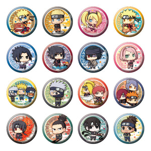 Tin Badge Collection: Naruto Shippuden - A New Era! Edition