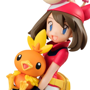 Pokémon May, Torchic, and Skitty