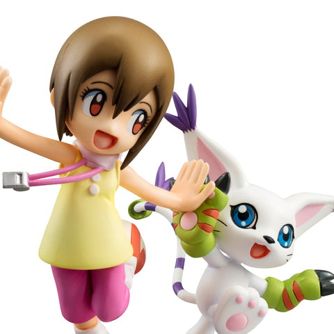 Digimon Adventure Takeru Takaishi & Patamon (resale) / Kari Kamiya & Gatomon (resale)
