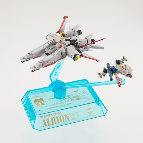 Cosmo Fleet Collection: Mobile Suit Gundam 0083 STARDUST MEMORY - Pegasus Class Albion