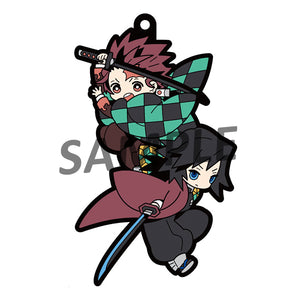Rubber Mascots Buddy-Colle: Demon Slayer: Kimetsu no Yaiba (Resale)
