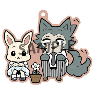 Rubber Mascots Buddy-Colle: BEASTARS